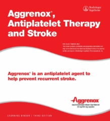 Aggrenox, Antiplatelet Therapy and Stroke - Product Training